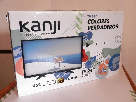 Monitor Tv Led 24 Kanji Full Hd 1080p Hdmi. Conecta A Tda