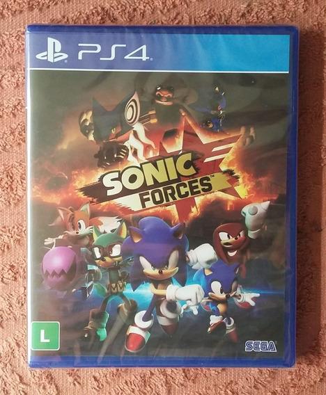 Sonic Forces Ps4 - Mídia Física