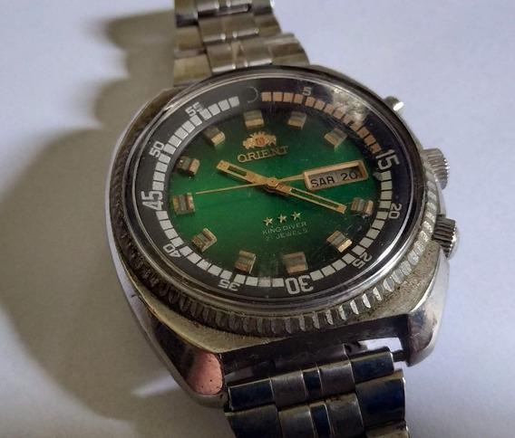 Relógio Orient Kd 21 Jewels Automático Antigo De Coleção