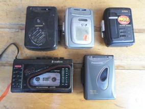 Lote 5 Walkman Aiwa Broksonic Panasonic Precision Maxsonic