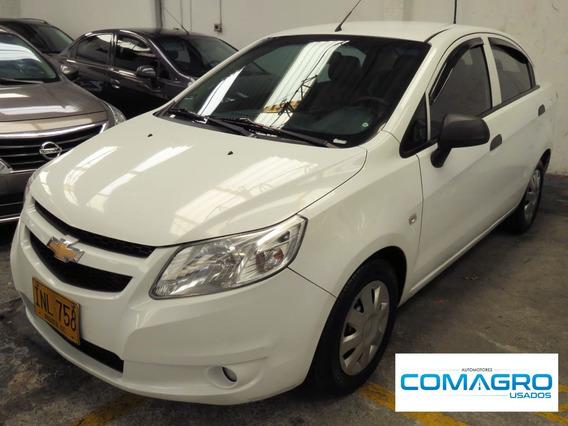 Chevrolet Sail 4p Ls A.a.2016 Inl758