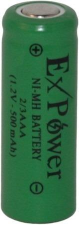 Bateria 2/3aaa 500mah 1,2v Ni-mh (10,5x28,5)mm