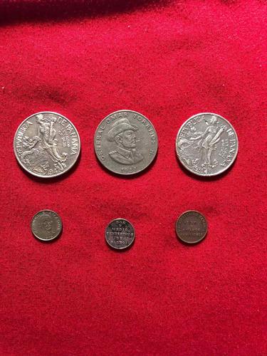 Monedas De Panamá Antiguas