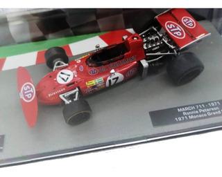 Formula 1 Salvat Nº 83 March 711 (1971) Ronnie Peterson