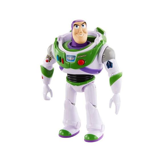 Figura Com Sons - 18 Cm - Disney - Pixar - Toy Story 4 - Buz