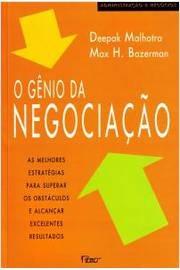 O Gênio Da Negociação ( Livro Novíssimo )