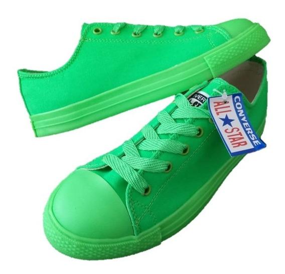 Converse Verde Limon Ropa, Bolsas y Calzado en Mercado