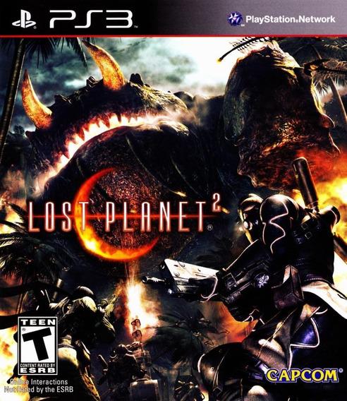Jogo Lost Planet 2 Playstation 3 Ps3 Mídia Física Ação Japon
