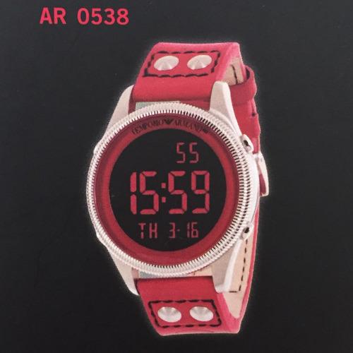 Relógio Emporio Armani Product (red) Original