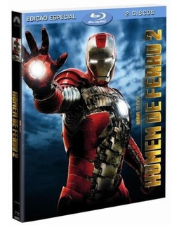 Filme Homem De Ferro 2 Blu-ray