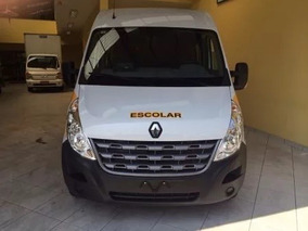 Renault Master Escolar Branca 2019 Linda!