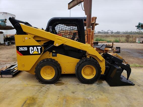 Minicargador Caterpillar Bobcat 262d Año Motor Caterpillar