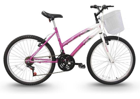 Bicicleta Track Bikes Parati Juvenil Aro 24 Seminova