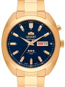 Relógio Orient Masculino Automatico Dourado 469gp077 D1kx