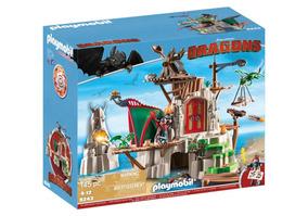 Brinquedo Playmobil Dragons Castelo De Berk Sunny 9243