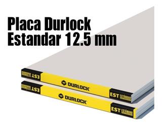 Placa Yeso Durlock 12.5mm 1.20x2.40m Distr. Oficial Vagol