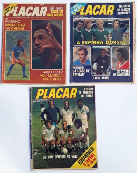 Placar 1974 Abril Com 7 Revista Raras Frete Grátis