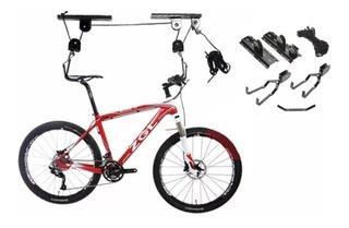 Soporte Gancho Porta Bicicleta Levadizo Para Colgar Techo
