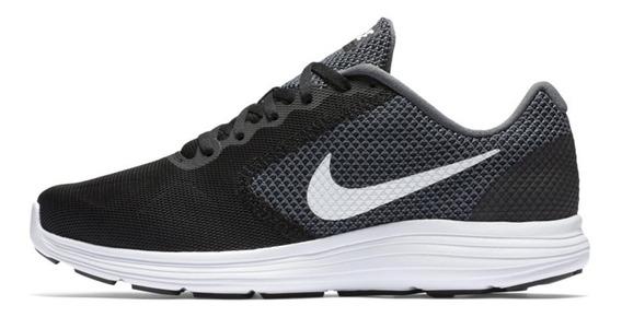 Tênis Nike Masculino Revolution 3 Preto (acadêmia)