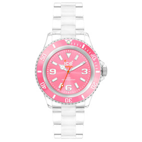 Relógio Chromatic Rosa Pequeno Caixa 38 Mm Ice-watch