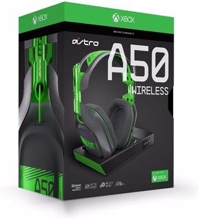 Audifonos Inalambricos Astro A50 Xbox One Y Pc, Generacion 3