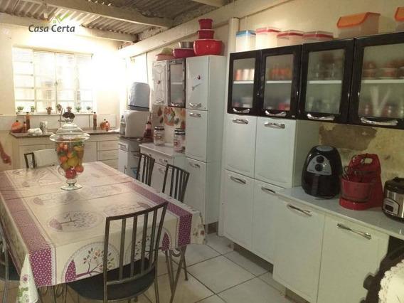 Casa Com 3 Dormitórios À Venda, 120 M² Por R$ 280.000 - Jardim Bandeirantes - Mogi Guaçu/sp - Ca1462