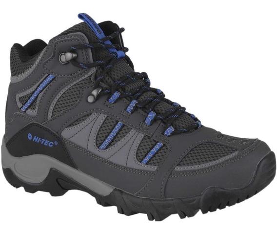 Zapatillas/ Botín Hi-tec Bryce 2 Para Hombre - Gris/ Oferta