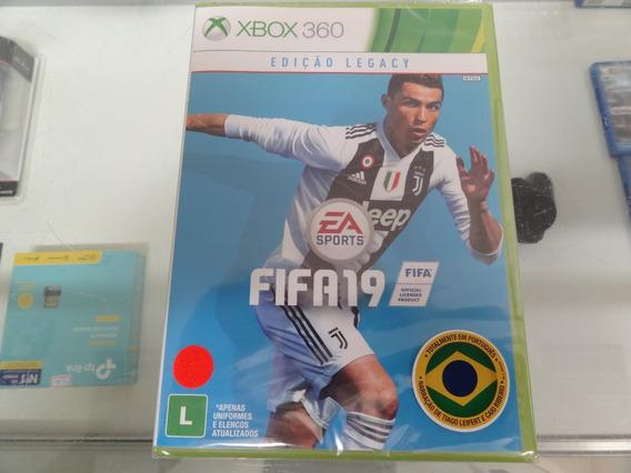 Fifa 19 Xbox 360 Novo Lacrado Midia Fisica Promoção