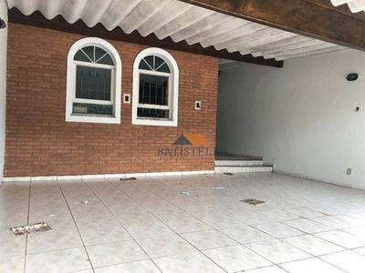 Casa Com 3 Dormitórios Para Alugar Por R$ 1.500/mês - Jardim Piratininga - Limeira/sp - Ca0663