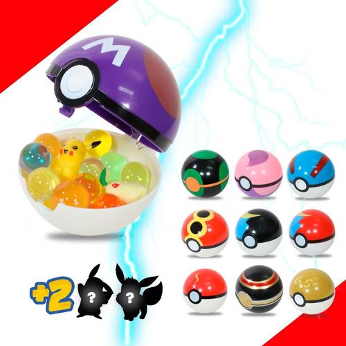Imagen 1 de 7 de Pokebola Juguete Pokemon Figura Coleccion De Regalo