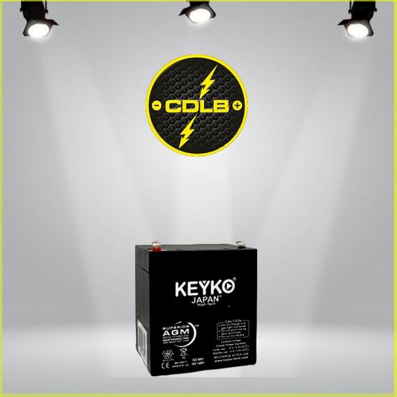 Pila Acumulador O Bateria Vrla 6 Voltios 2.8 Amp Recargable