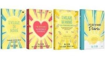 Livros - Coleção Os 4 Milagres Da Manhã
