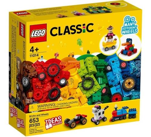 10715 Caixa Lego Classic Engrenagens E Rodas 442 Peças