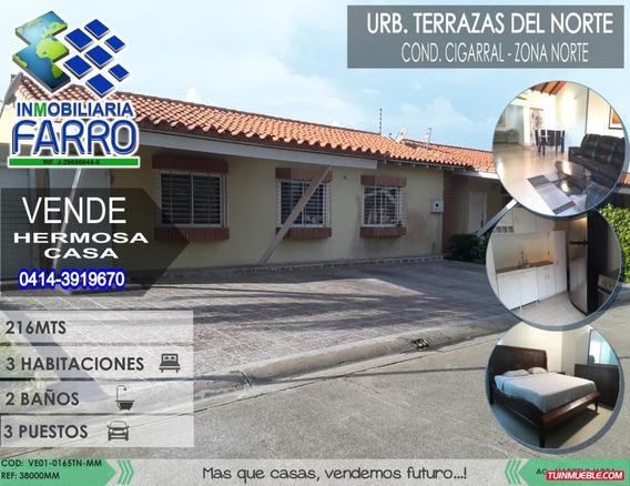 Venta De Casa En Palma Real Ve01-0165tn-mm