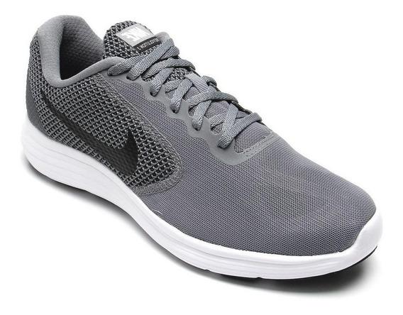 Tênis Nike Revolution 3 Cinza/preto