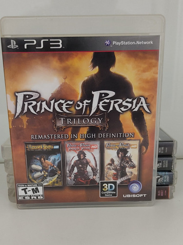 Prince Of Pérsia Trilogy Remastered In High Definitiom Ps3