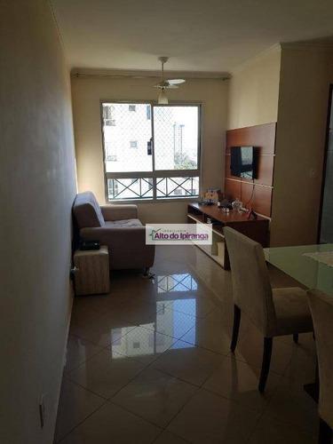 Apartamento Com 2 Dormitórios À Venda, 48 M²  - Sacomã - São Paulo/sp - Ap4459