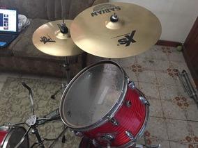 Set Completo Yamaha 4 Piezas Y Platillos Sabian Xs20