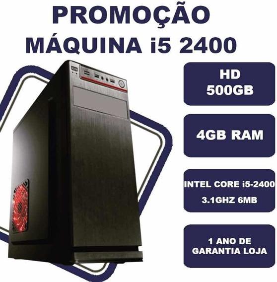 Computador I5 2400 3-1ghz 4gb Ram Com 1 Ano De Garantia