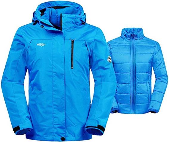Chamarra 3 En 1 Dama Alpina Waterproof Termica Nieve Lluvia