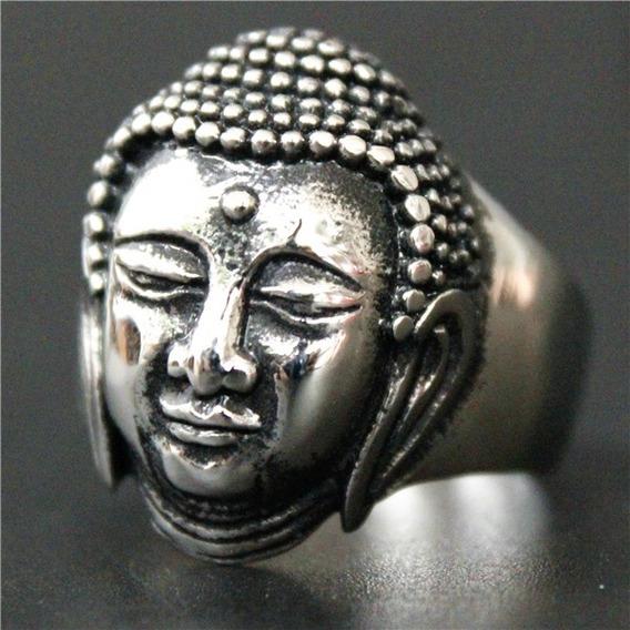 Anel Budha Aço Inox 316l