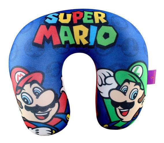 Almofada Pescoço Microperolas Super Mario (licenciada Ninten