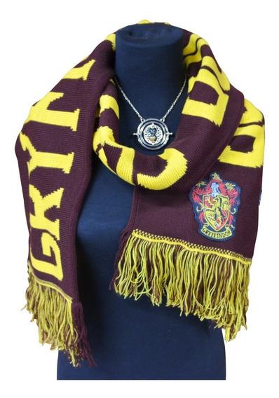Bufanda Harry Potter Gryffindor Escrita Licencia Oficial