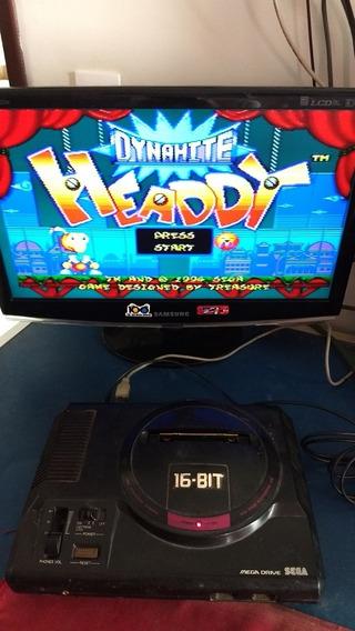Mega Drive Com Defeito No Som, Apenas O Console!