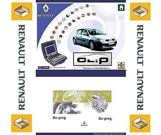 Software Renault Can Clip V192 - 2019 + Instalação Remota