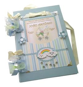 Álbum Chuva De Amor Nuvem Bebê Fotos Livro Personalizado