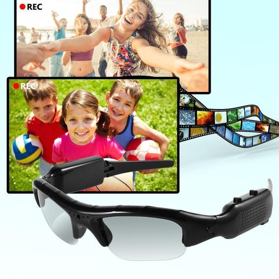 Esportes Camera Glasses & Mini Dvr Vidros Ocultos Camera & V