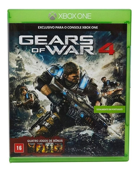 Gears Of War 4 Xbox One Pt-br Midia Fisica