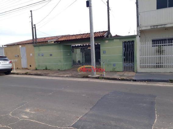 Casa Com 2 Dormitórios À Venda, 250 M² Por R$ 300.000 - Planalto Paraíso - São Carlos/sp - Ca1272
