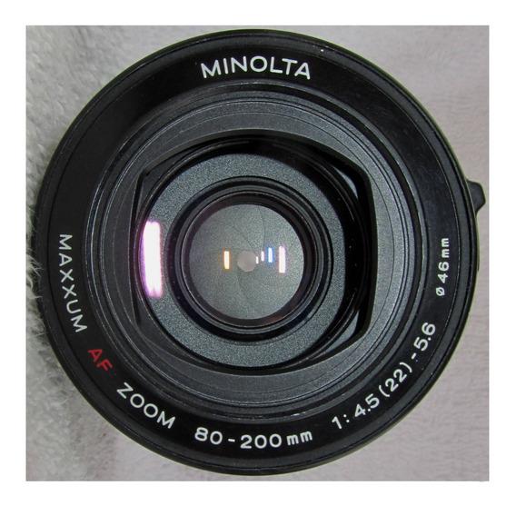 Sony 80-200 4-5.6 Af Minolta Maxxum Montura A Lente 0t2 Obje